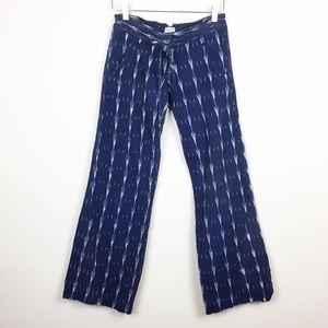 Georgie | Printed Drawstring Linen Pants